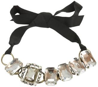 Lanvin Tie-Up Choker Necklace