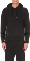 Alexander McQueen Panelled cotton-jersey hoody
