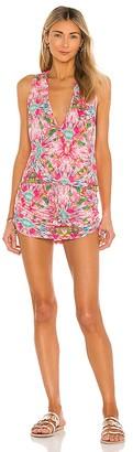 Luli Fama Ocean Drive Euphoria T Back Mini Dress