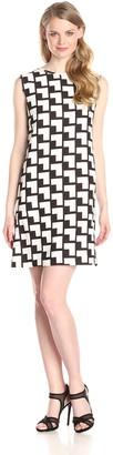 Helene Berman Women's Simple Loose Fit Shift Dress