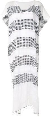 Lemlem Selamawit striped cotton cover-up