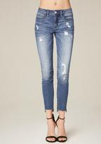 Bebe Step Hem Heartbreaker Jeans