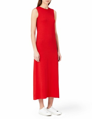Meraki Amazon Brand Women's Summer T-Shirt Maxi Dress