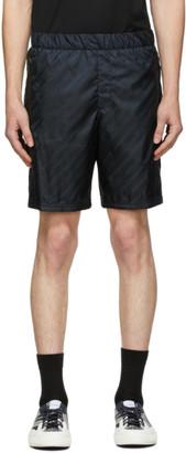Givenchy Black Chain Track Shorts