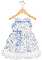 Biscotti Girls' Tiered Floral Print Dress w/ Tags