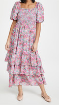 Thumbnail for your product : ENGLISH FACTORY Floral Print Maxi Dress