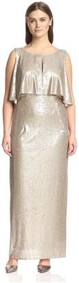 ABS by Allen Schwartz Women's Long Gown