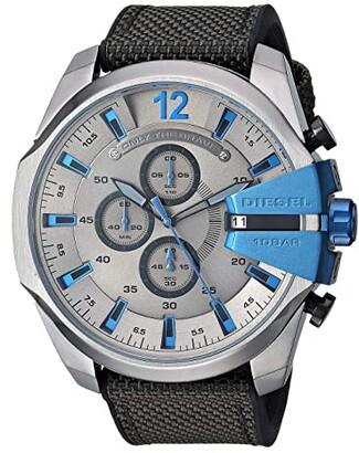 Diesel Mega Chief - DZ4500 (Black/Gray) Watches