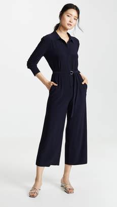 Norma Kamali Cropped Jumpsuit