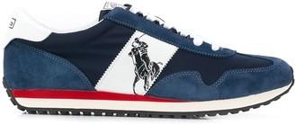 Polo Ralph Lauren Logo Panelled Sneaker
