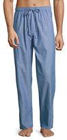 Black Brown 1826 Printed Poplin Pyjama Pants