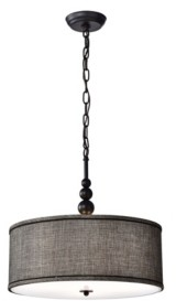"""Home Accessories Penelope 17.7"""" 3-Light Indoor Pendant Lamp with Light Kit"""