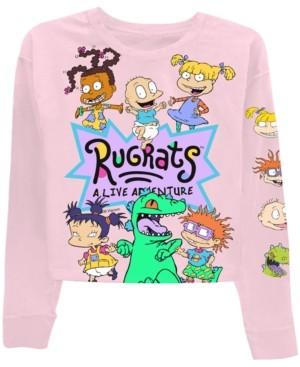 Freeze 24-7 Trendy Plus Size Rugrats-Graphic T-Shirt