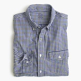 J.Crew Slim lightweight oxford shirt in summertime gingham