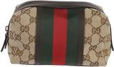 Gucci Original GG Canvas Web Cosmetic Case