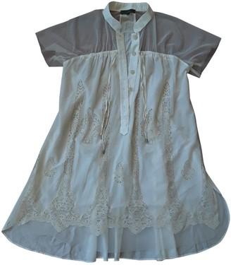 Mariagrazia Panizzi Ecru Cotton Dress for Women