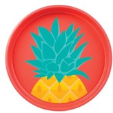 Sunnylife Fruit Pattern Round Tin Tray