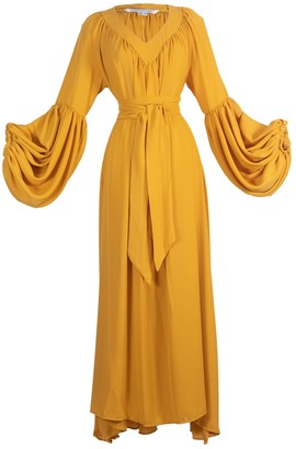 Jennafer Grace Mustard Stardust Dress