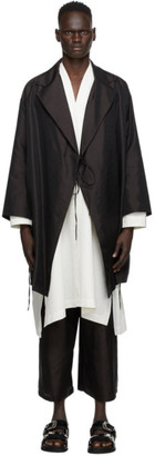SASQUATCHfabrix. Black Taco Karakusa Gown