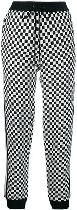 MICHAEL Michael Kors Checked Track Pants
