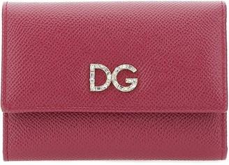 Dolce & Gabbana Monogram Embellished Wallet