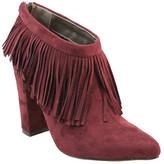 Michael Antonio Women's Jessika Sue Fringe Ankle Boot