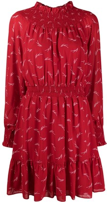 MICHAEL Michael Kors Abstract Print Mini Dress
