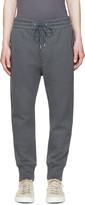 Helmut Lang Grey Knit Lounge Pants