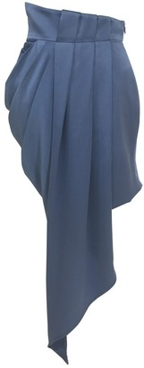 Sandra Weil Blue Skirt for Women