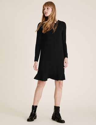 Marks and Spencer Peter Pan Collar Mini Swing Dress
