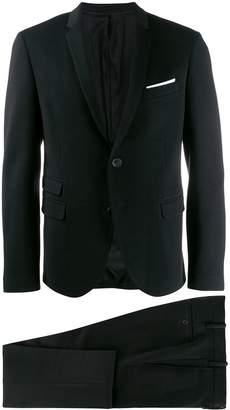 Neil Barrett narrow lapel suit