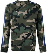 Valentino camouflage sweatshirt - men - Cotton/Polyamide - XS