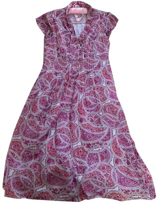 Brora Pink Cotton Dress for Women