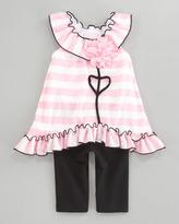cachcach Springtime in Paris Dress & Leggings Set