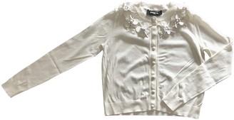 Paule Ka Ecru Cotton Knitwear for Women
