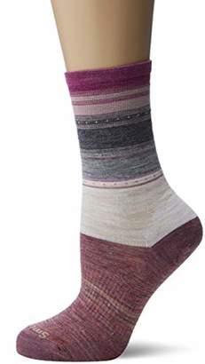 Smartwool Women's Sulawesi Stripe Crew Socks,Small
