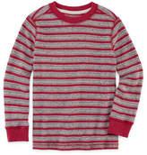 Arizona Long Sleeve Stripe Thermal Top - Preschool Boys