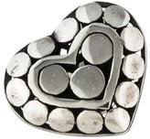 John Hardy Dot Heart Pin