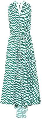 Alexandra Miro Goddess printed cotton dress