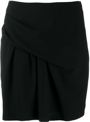 IRO High-Waisted Asymmetric Skirt