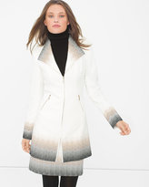 White House Black Market Ombre Coat