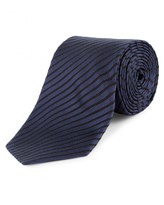 Jaeger Silk 3D Textured Stripe Tie