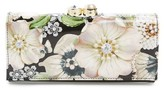 Ted Baker Women's Gem Gardens Leather Matinee Wallet - Black