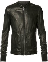 Rick Owens zipped jacket - men - Cotton/Calf Leather - 46