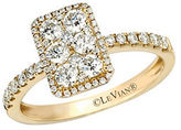 LeVian Honey N Vanilla Diamond and 14K Honey Gold Ring