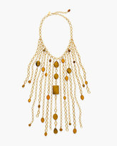 Chico's Scarlet Bib Necklace
