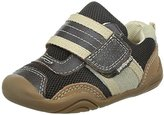 pediped New Grip n Go Adrian Chocolate Brown Sneakers Toddler Boys Shoes