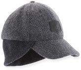 UGG Wool Knit-Trim Baseball Hat