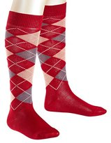 Falke Girl's Classic Argyle Knee-High Socks