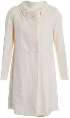 Chloé Ecru Silk Coat for Women